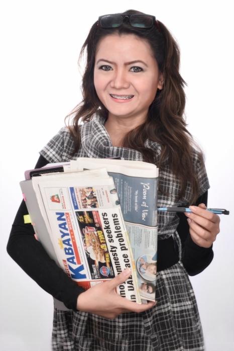 """My Column """"POEM OF VIEW"""" on Kabayan weekly newspaper UAE"""